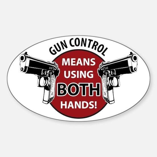Gen Control Sticker (Oval)