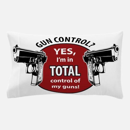 Gun Control Pillow Case