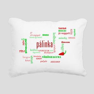 Hungary Rectangular Canvas Pillow
