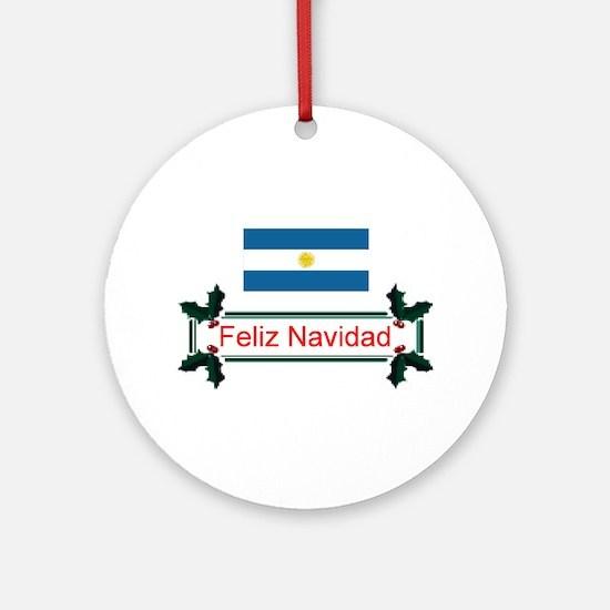 Argentina Feliz.. Keepsake Ornament
