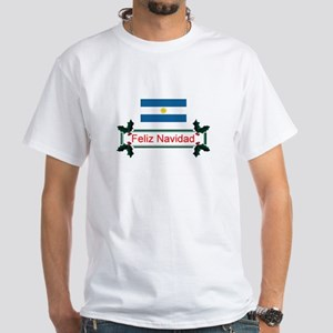 Argentina Feliz.. White T-Shirt