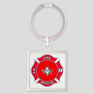 Rescue Brethren Square Keychain