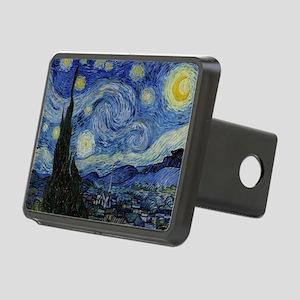 Vincent Van Gogh Starry Ni Rectangular Hitch Cover
