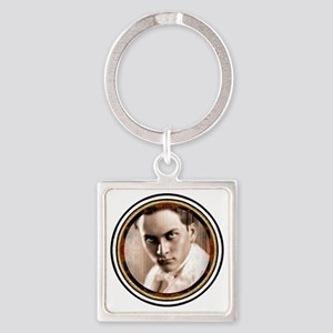 Manly P. Hall Tee  Square Keychain