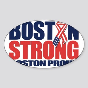 Boston Strong d Sticker (Oval)
