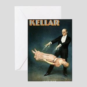 Kellar 2 - Strobridge - 1894 Greeting Cards