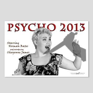 Cheyenne: Psycho 2013 Postcards (Package of 8)