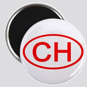 CH Oval (Red) Magnet