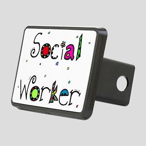 social worker PILLOW Rectangular Hitch Cover