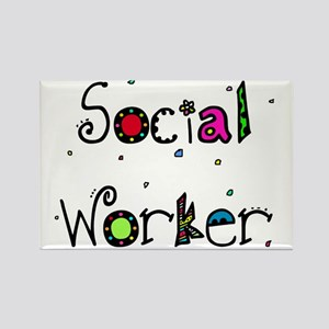 social worker PILLOW Rectangle Magnet