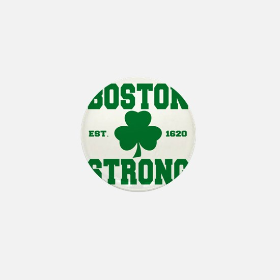 boston strong b Mini Button