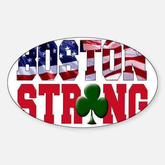 Boston Strong aaa Sticker (Oval)