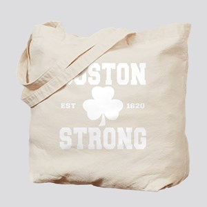 boston strong b(blk) Tote Bag