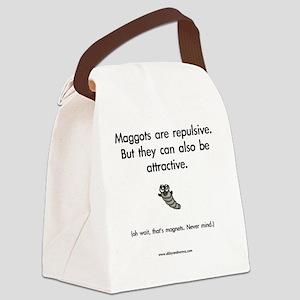 Repulsive Maggots Canvas Lunch Bag