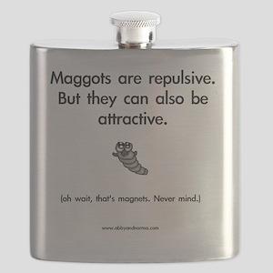 Repulsive Maggots Flask