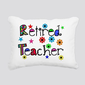 retired teacher stars fl Rectangular Canvas Pillow