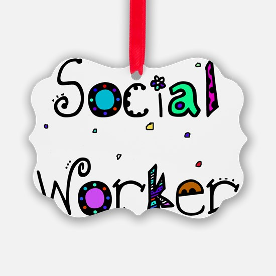 social worker PILLOW 2 Ornament