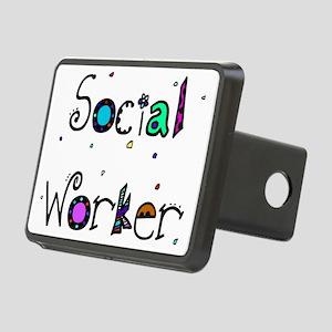 social worker PILLOW 2 Rectangular Hitch Cover