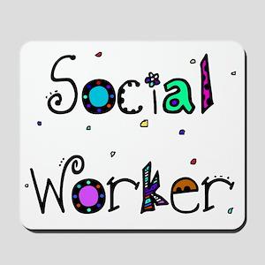 social worker PILLOW 2 Mousepad