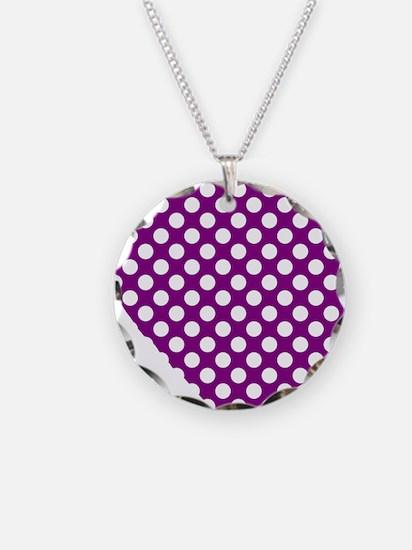 Fibro Awareness Heart Necklace