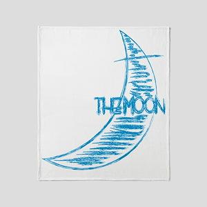 wt_rag_back_moon Throw Blanket