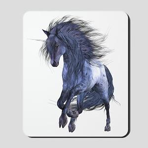 Blue Unicorn Mousepad
