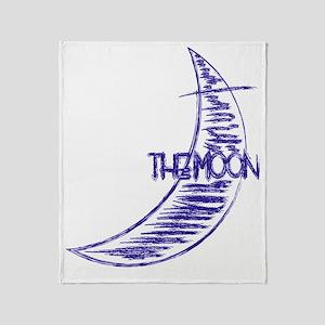 bb_rag_back_moon Throw Blanket