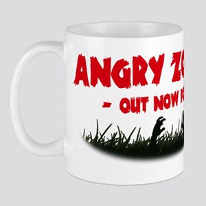 Angry Zombies back - red Mug