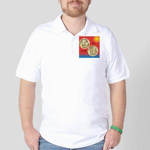 California Pacific Expo Half Dollar Coi Golf Shirt