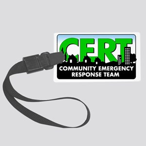 CERT Logo Large Luggage Tag