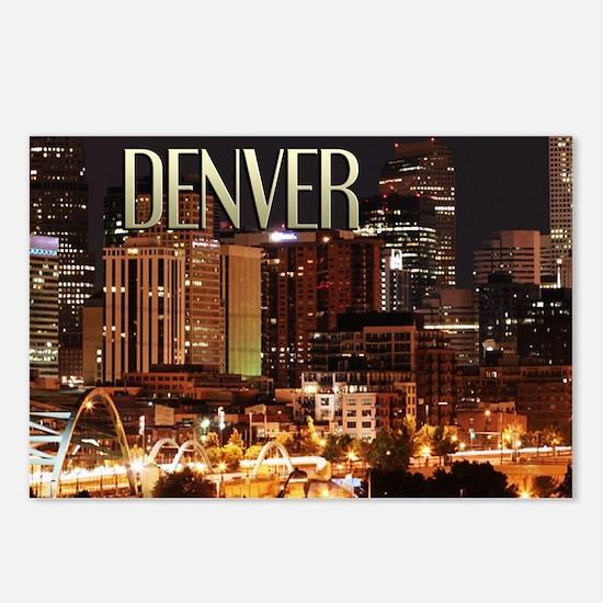 Denver Colorado Postcards (Package of 8)