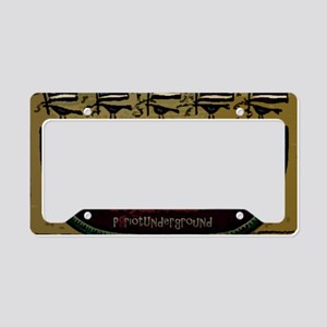 American Picnic License Plate Holder