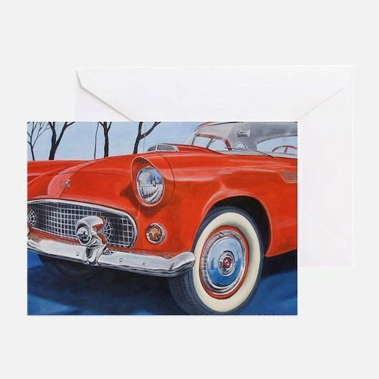 1955 Thunderbird Greeting Cards (Pk of 10)