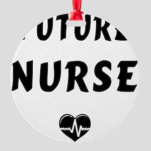 Future Nurse Round Ornament