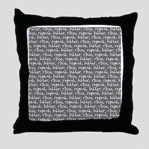 Lather Throw Pillow