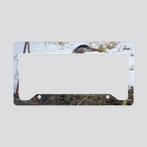 Great Blue Heron License Plate Holder