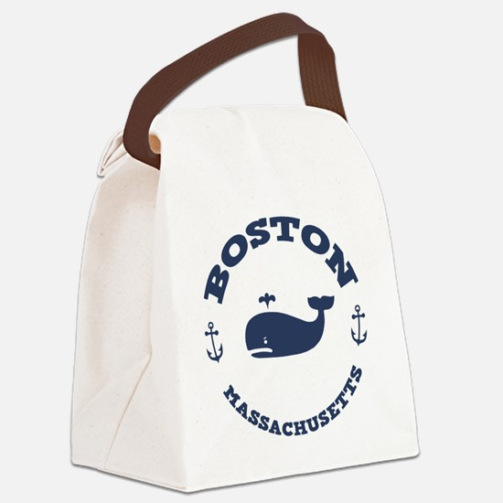 souv-whale-boston-LTT Canvas Lunch Bag