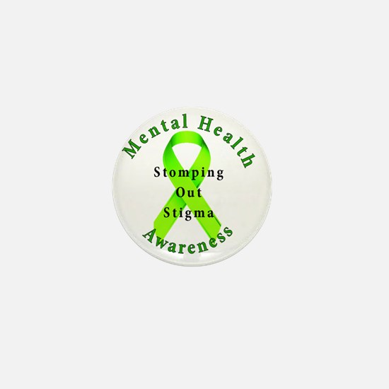 Stomping Out Stigma Mini Button
