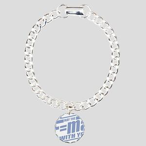 F=ma Charm Bracelet, One Charm