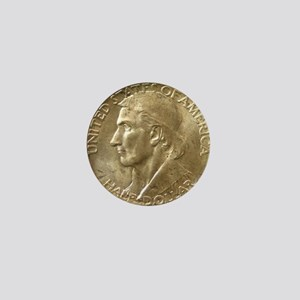 Daniel Boone Half Dollar Coin  Mini Button