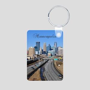 Minneapolis_2.41X4.42_iPho Aluminum Photo Keychain
