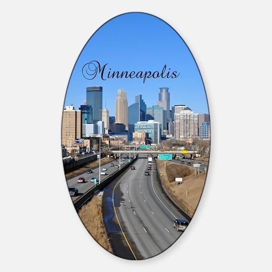 Minneapolis_5.415X 7.9688_iPadSwitc Sticker (Oval)