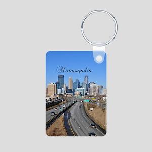 Minneapolis_5.415X 7.9688_ Aluminum Photo Keychain