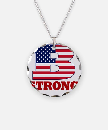 b strong(blk) Necklace