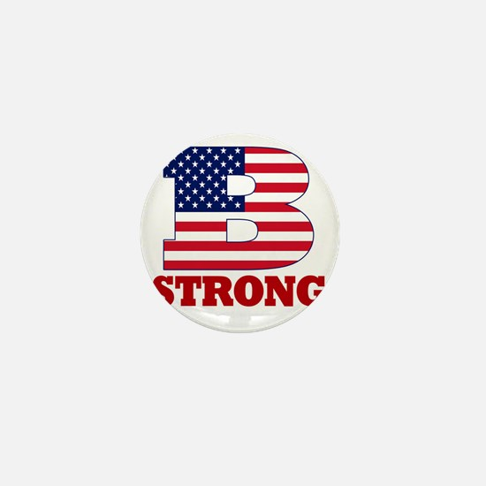 b strong(blk) Mini Button