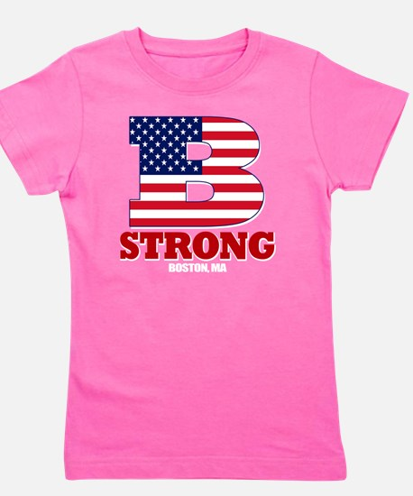 b strong(blk) Girl's Tee