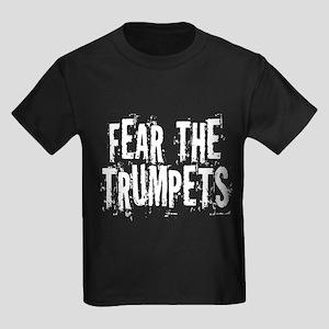 Funny Trumpet Kids Dark T-Shirt