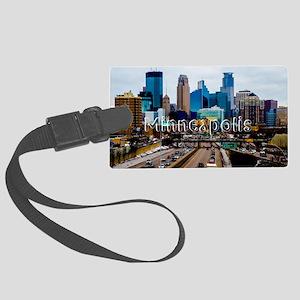 Minneapolis_11.527X6.11_ClutchBa Large Luggage Tag