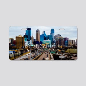 Minneapolis_11.527X6.11_Clu Aluminum License Plate
