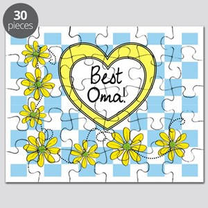 Best Oma Yellow Puzzle